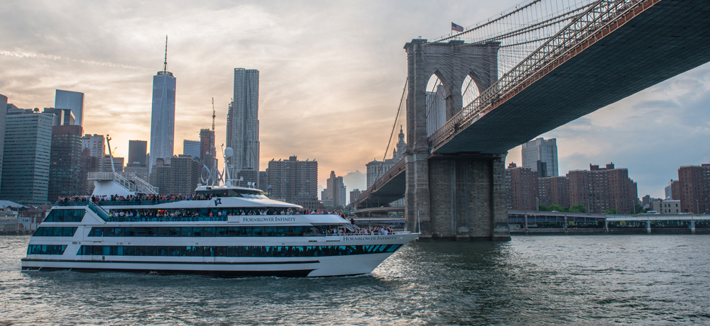 Hornblower NY commercial photography