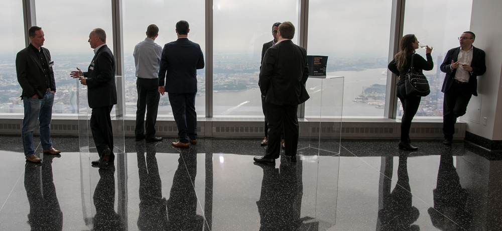 One world observatory world trade center corporate event